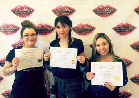 Three Students Graduating